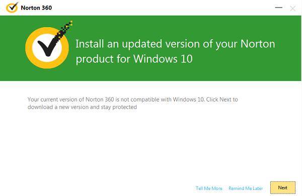 Norton Setup And Install For Windows 10