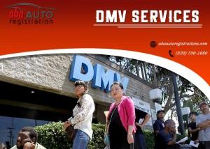 DMV registration service
