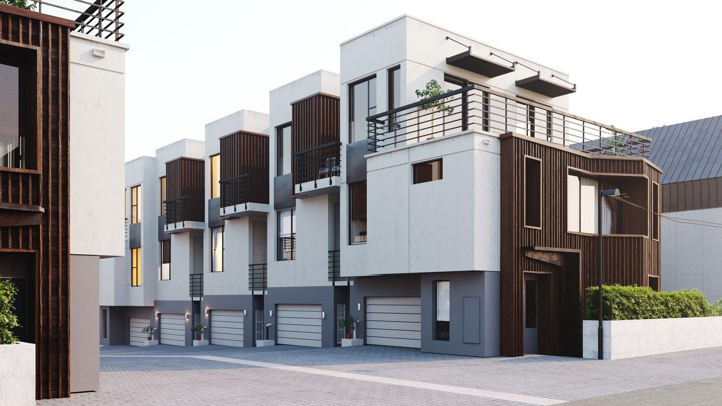 3d-architectural exterior-turbosquid