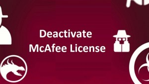 deactivate-mcafee-license