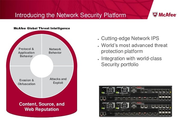 How McAfee Network Security Platform Works