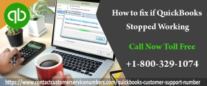 How to fix if QuickBooks Stopped Working