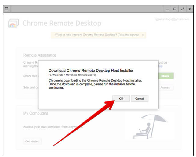 Download-and-install-Chrome-Remote-Desktop-Host-Installer