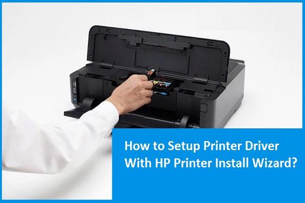 Setup Printer Driver