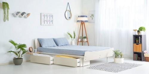 Light-Colors-Make-Small-Bedroom-Look-Bigger