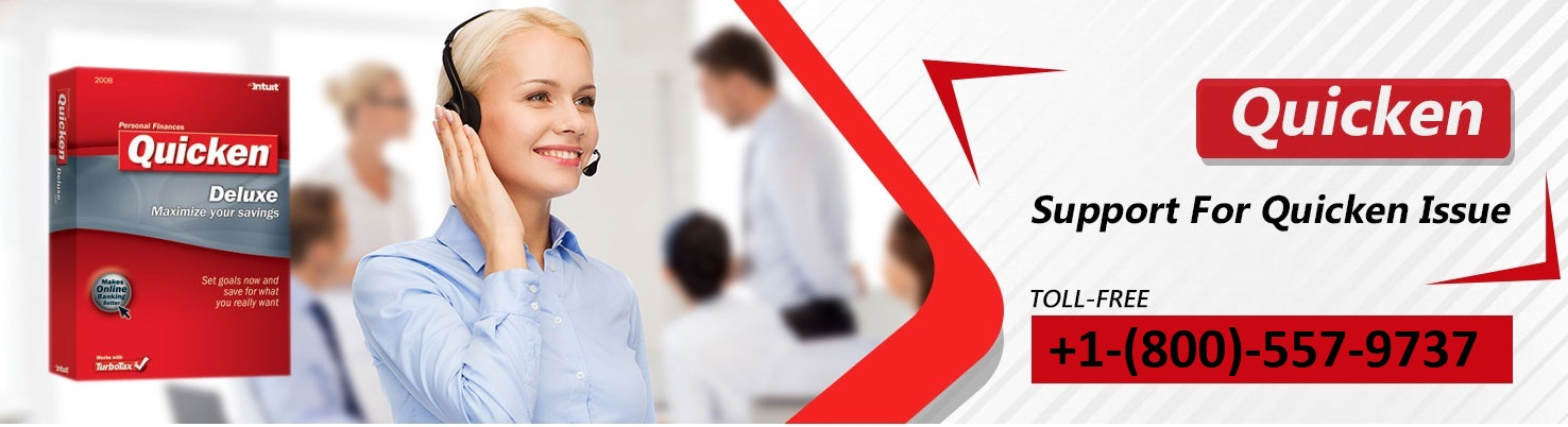 They're then trained under the higher management of Quicken who take part with the development of the program Contact 24/7 Quicken customer support phone number.