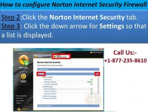 How to configure Norton Internet security firewall