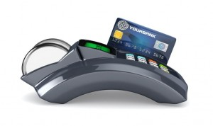 11979871 - 3d pos-terminal with credit card isolated