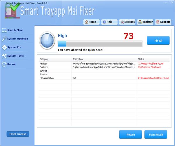 Trayapp.msi File