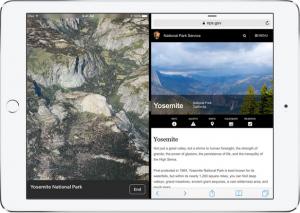 iPad With Split Screen
