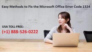 Office Error Code 1324