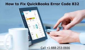 QuickBooks error code 832