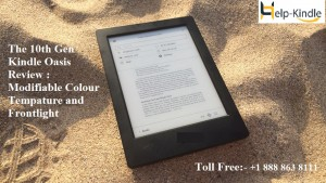 The 10th Gen Kindle Oasis Review Modifiable Colour Temperature and Frontlight