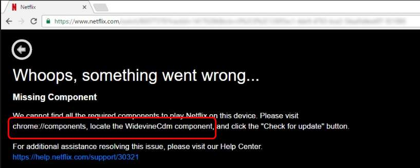 Widevine Content Decryption Module Issue