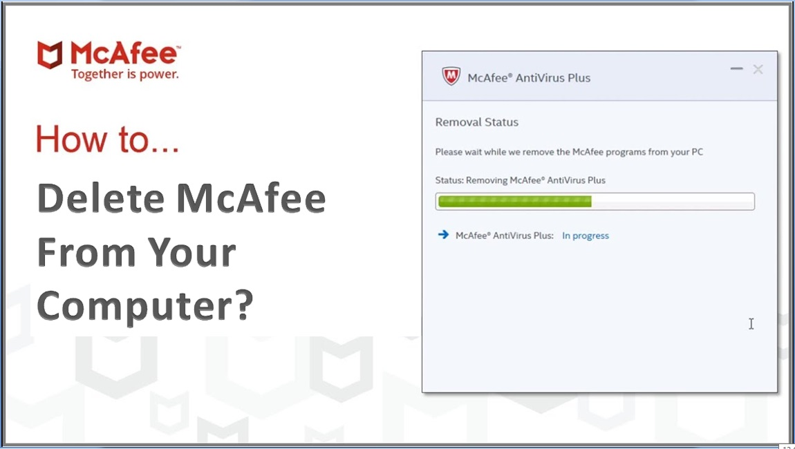 How to Delete McAfee From Your Computer