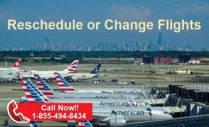 Change American Airlines flights