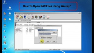 Open RAR File In Window 10