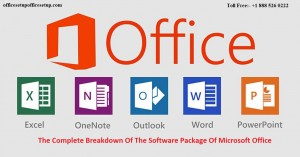 The Complete Breakdown Of The Software Package Of Microsoft Office