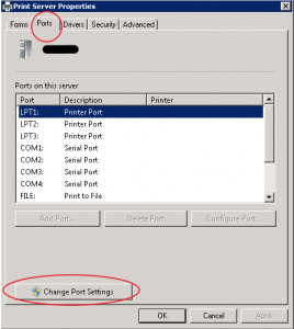 How to Troubleshoot an Error Occurred During Port Configuration