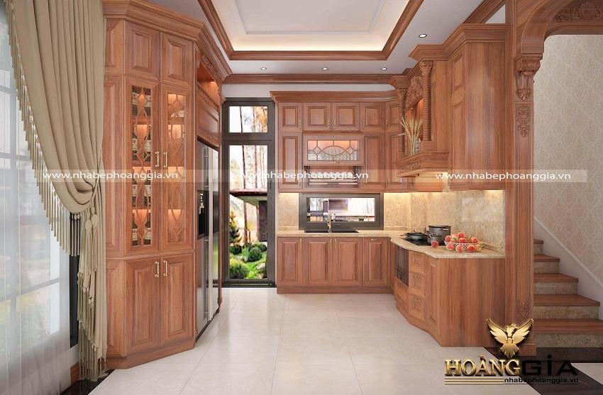 thiết kế ánh sáng nhà bếp