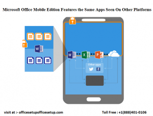 The Microsoft Office Mobile Edition Features the Same Apps Seen On Other Platforms