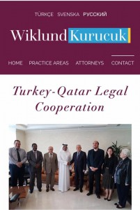 turkey qatar legal corporation