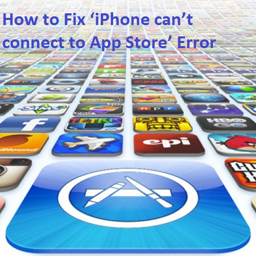 How to Fix 'iPhone can't connect to App Store' Error2