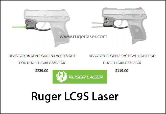 Ruger LC9S Laser
