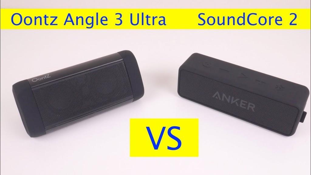 Oontz Angle 3 Ultra vs Anker Soundcore 2 Which Speaker to Buy