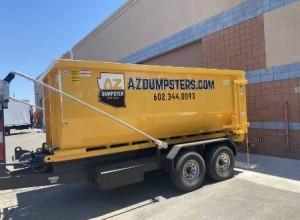 residential dumpster rental Peoria AZ
