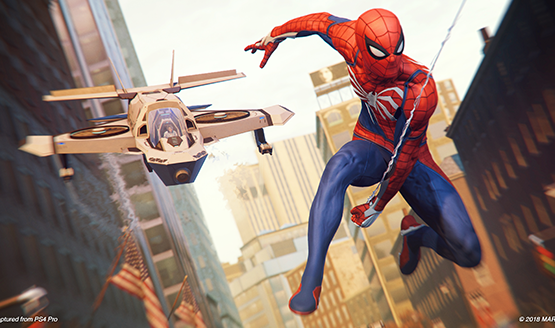Player Discovers Spider-Man PS4 Web-Slinging Animation You Haven't Seen Before