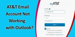 ATT Email Account Not Working with Outlook