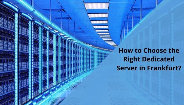 Dedicated Server Frankfurt