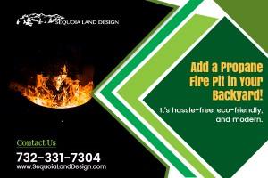 Outdoor Propane Fire Pit Edison