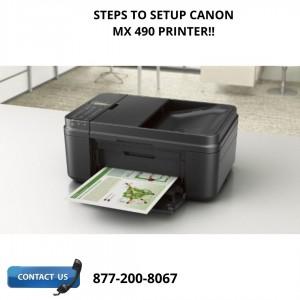 Canon mx 490 setup