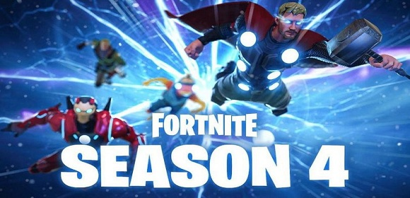 Fortnite Season 4 - Copy