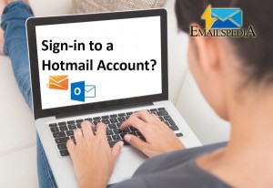 Sign in to a Hotmail Account