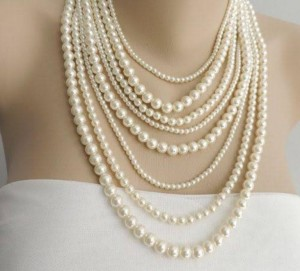 pearl stringing
