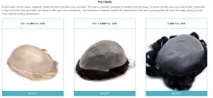 ABC-How to place a men's custom made toupee order