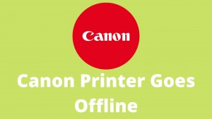 Canon Printer Goes Offline