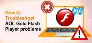 AOL Gold Flash Player Problems