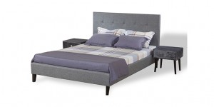 Fabric King-size Bed