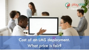 Cost of an Enterprise LMS.