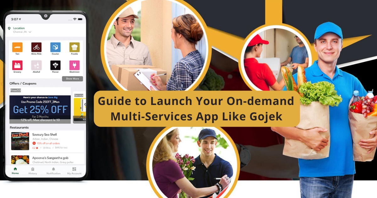 Guide to Launch Your Multi-Services App Like Gojek