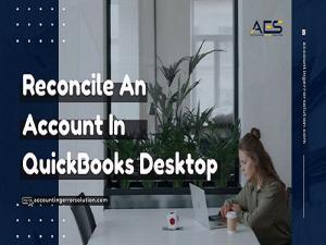 Reconcile an Account in QuickBooks Desktop