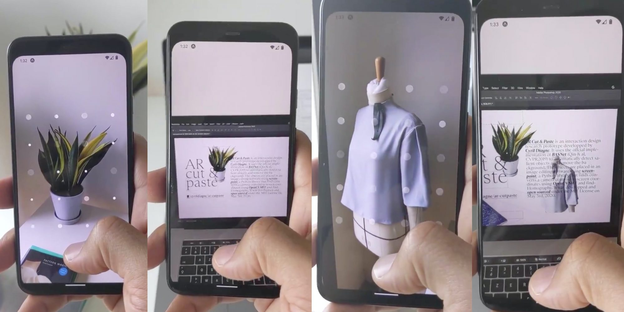How to Copy and Paste Real-World Objects in AR Using iPhone and Android