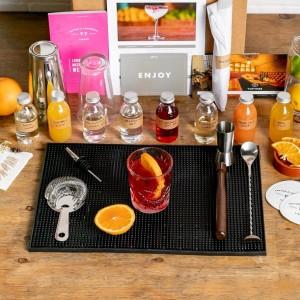 Virtual cocktail making