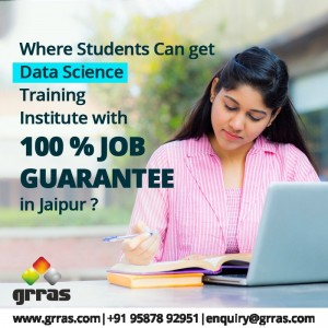 Where students can get Data Science training institute with 100% Job Guarantee in Jaipur?