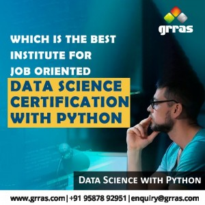 Which is The Best Institute For Job Oriented Data Science Certification With Python?