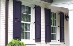 custom exterior shutters for windows Pacific Palisades windowtreatmentbygrace
